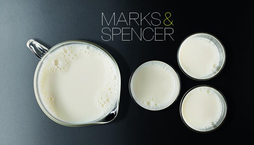 m&s milk
