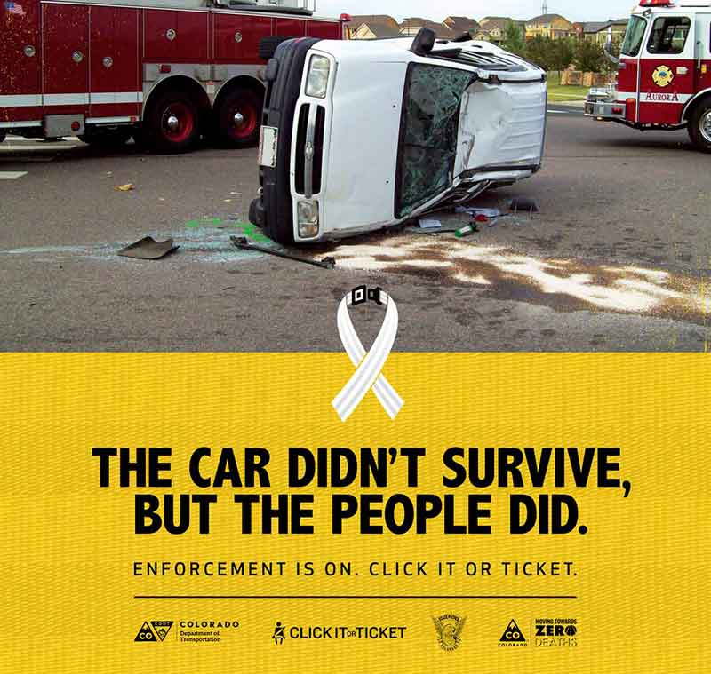 Poignant Campaign In Colorado To Save Lives By Encouraging