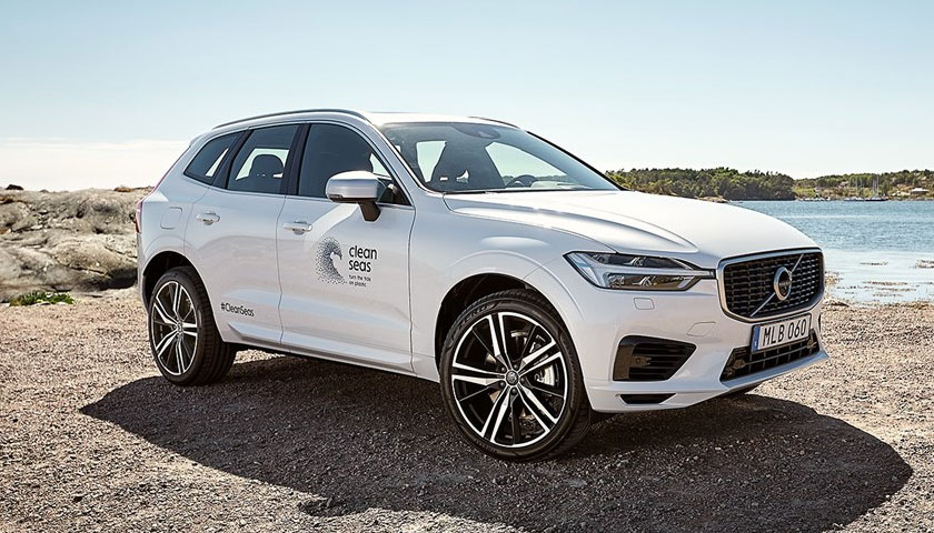 Volvo Cars aims for 25 per cent recycled plastics in every new car