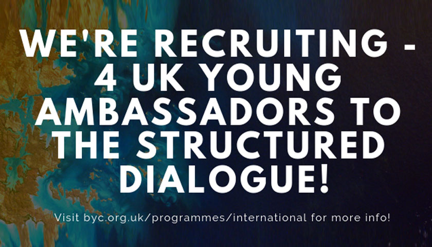 British Youth Council Call for UK Young Ambassadors Launched